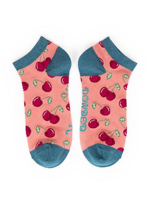 Cherries Trainer Socks
