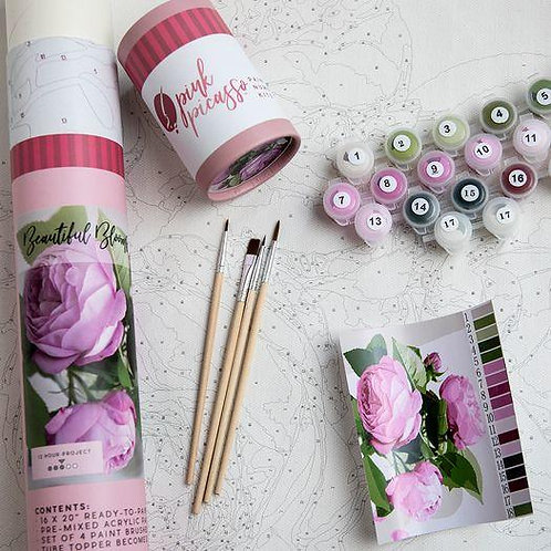 Beautiful Blooms Paint By Number Kit
