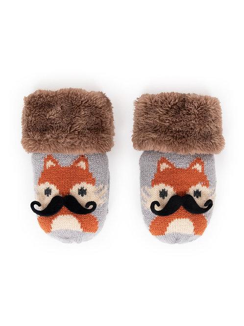 Cosy Kids Fox Mittens