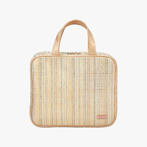Martha Large Makeup Briefcase-Jakarta Gold