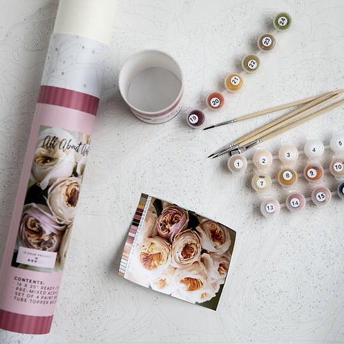 All About Austin Paint By Number Kit