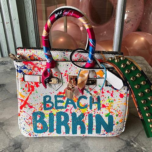 Anca Barbu Beach Birkin Handbag