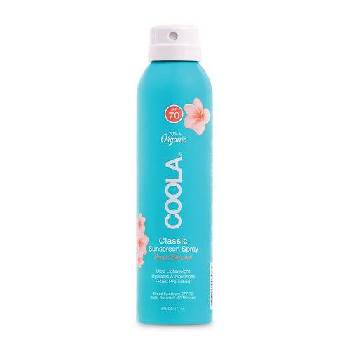 Classic Body Organic Sunscreen SPF 70 - Peach Blossom
