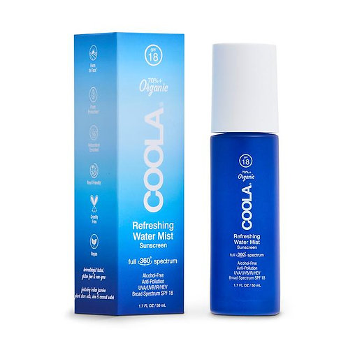 COOLA Refreshing Water Mist Sunscreen Full 360° Spectrum SPF 18