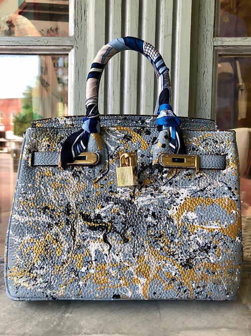 Anca Barbu Grey Handbag