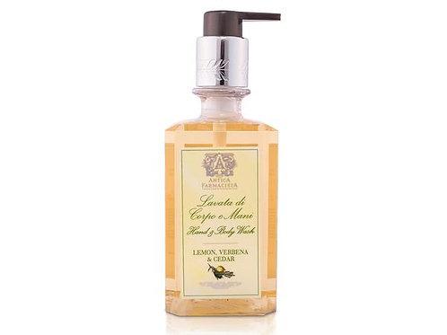 Antica Farmacista Lemon, Verbena & Cedar Hand and Body Wash