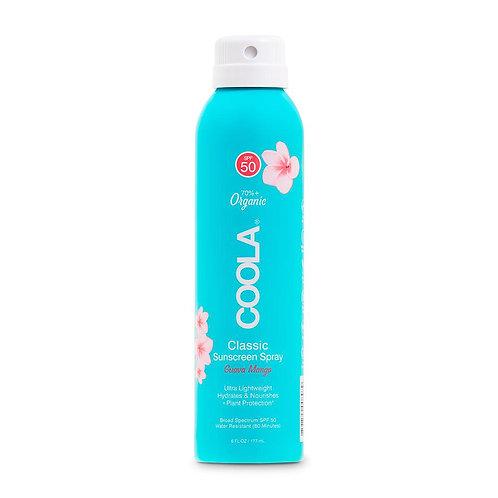 Classic Body Organic Sunscreen Spray SPF 50 - Guava Mango