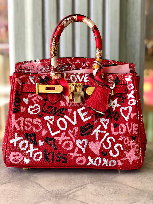 LOVE XOXO KISS Bag