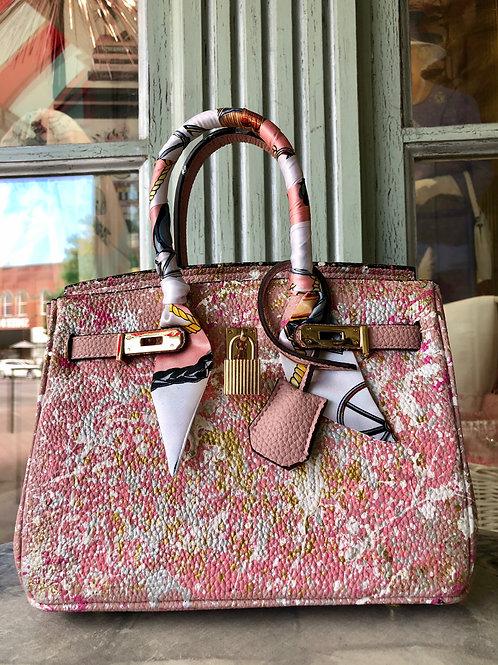Anca Barbu Pink Handbag