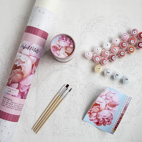 Perfect Petals Paint By Number Kit