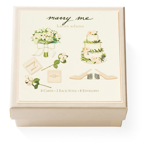 Marry Me Gift Enclosure Box