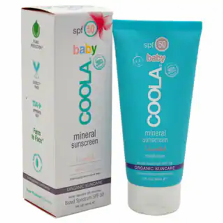 Mineral Baby Sunscreen SPF 50 Unscented