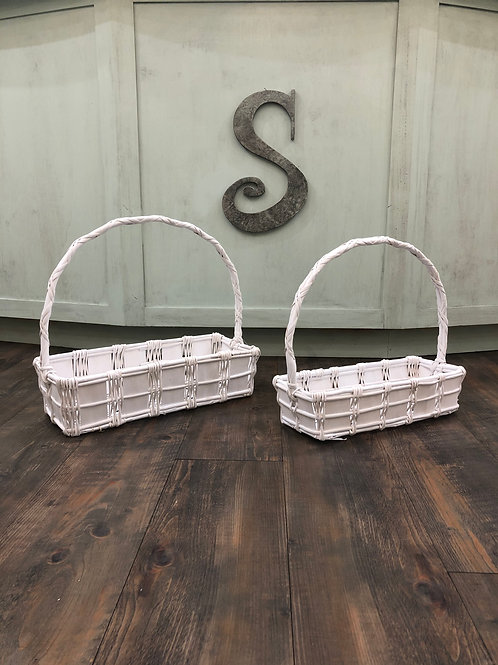 Rectangle Gift Baskets-Unavailable For Shipment