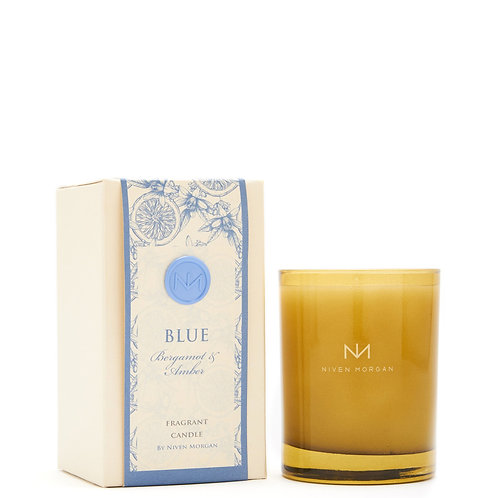 Niven Morgan Blue Candle