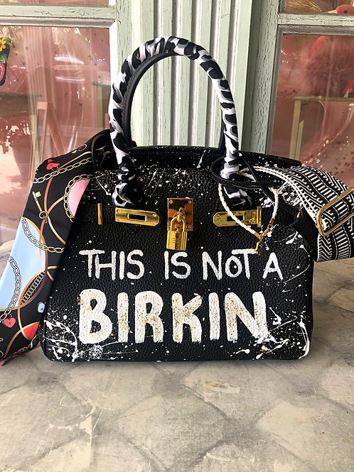 Anca Barbu This Is Not a BIRKIN Large