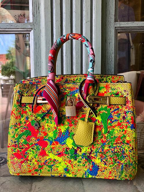 Anca Barbu Multi-Color Handbag