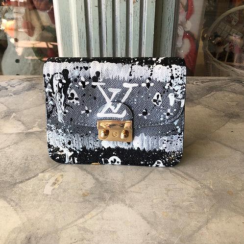 Anca Barbu Black and Silver Louis Vuitton