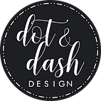 Dot_and_Dash_Design_Logo_-_white_on_blac