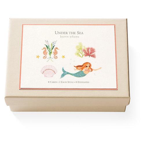 Under The Sea Notecard Box