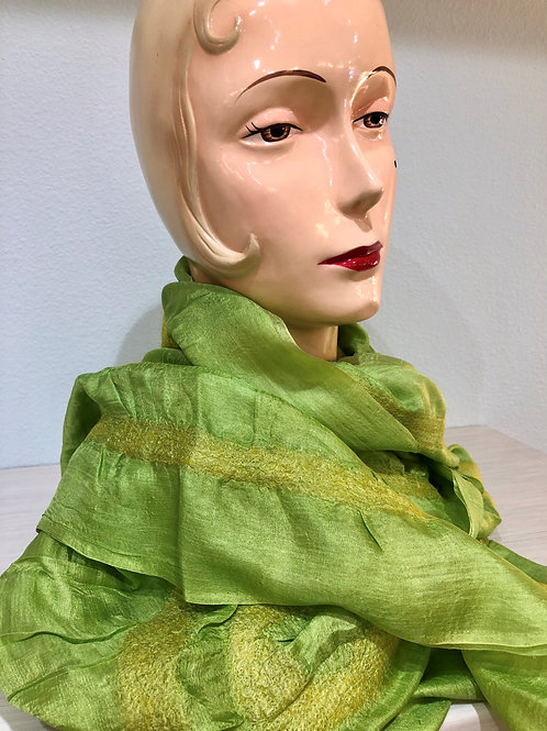 Gypsy Scarf Apple Green