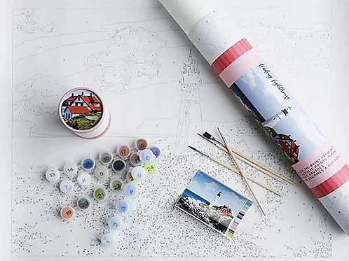 Leading Lighthouse Paint By Number Kit