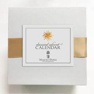 Maison De Papier Classical Advent Calendar