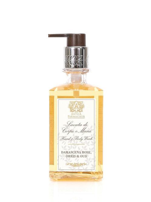 Damascena Rose, Orris & Oud Liquid Hand Soap