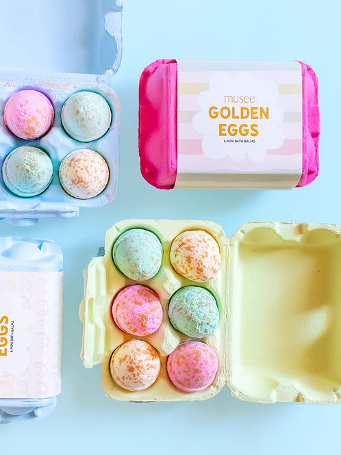 Musee Golden Eggs Bath Balms