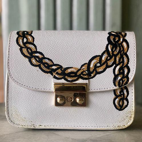 Gold Chain Clutch