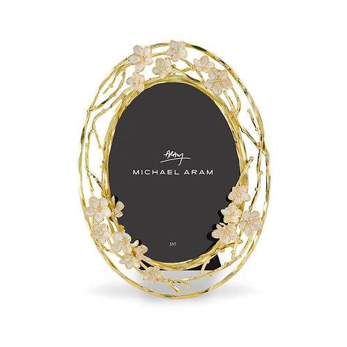 Cherry Blossom Oval Frame 5x7
