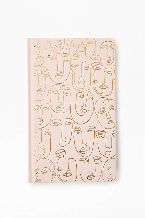 Notebook With Faces