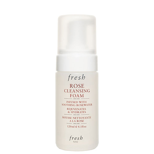 Fresh Rose Cleansing Foam Face Wash 120ml