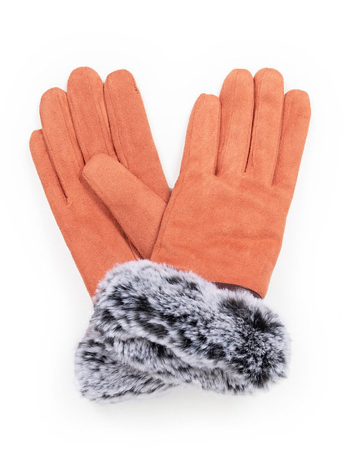 Penelope Faux Suede Gloves