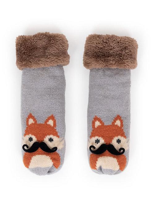 Cozy Fox Mittens