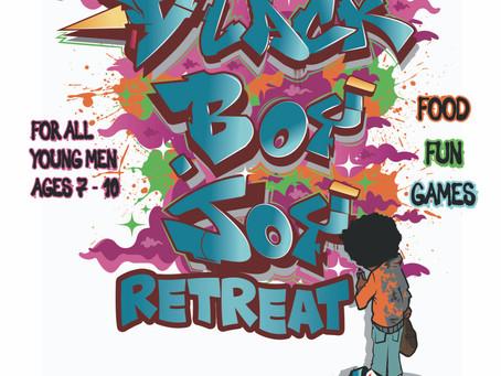 #BlackBoyJoy Retreat