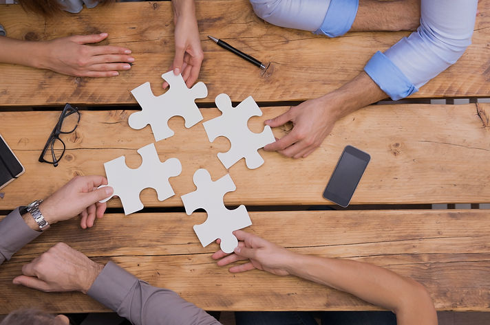 Putting the pieces together, partnering with others