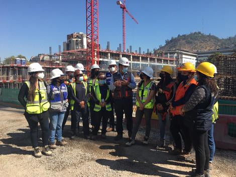 Subsecretario de OOPP visita las obras del nuevo Hospital del Salvador