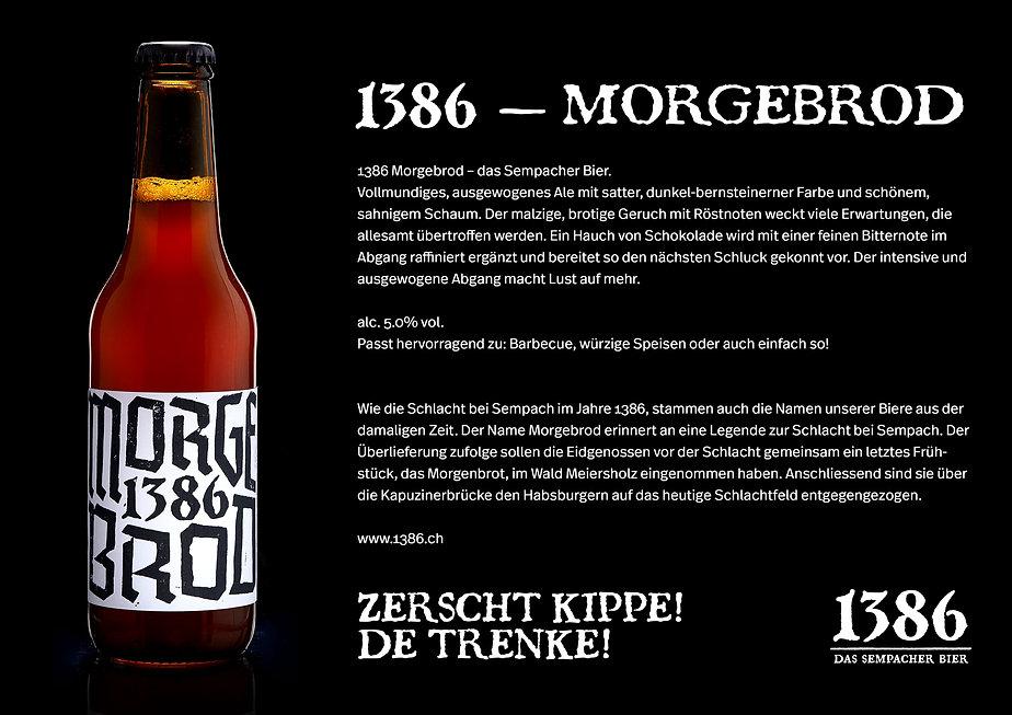 1386 - Morgebrod, das Sempacher Bier
