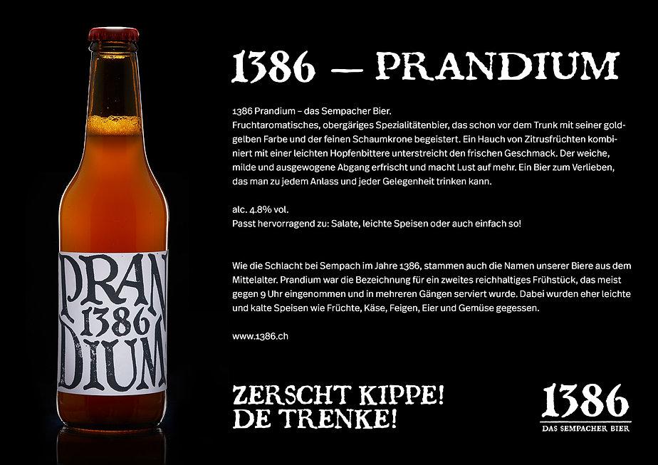 1386 - Prandium, das Sempacher Bier