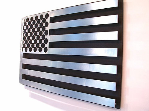 Steel Flag by Greg Hawthorne