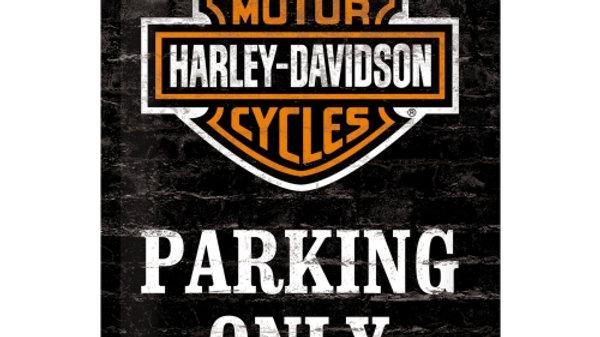 Harley Davidson 20x30cm sign