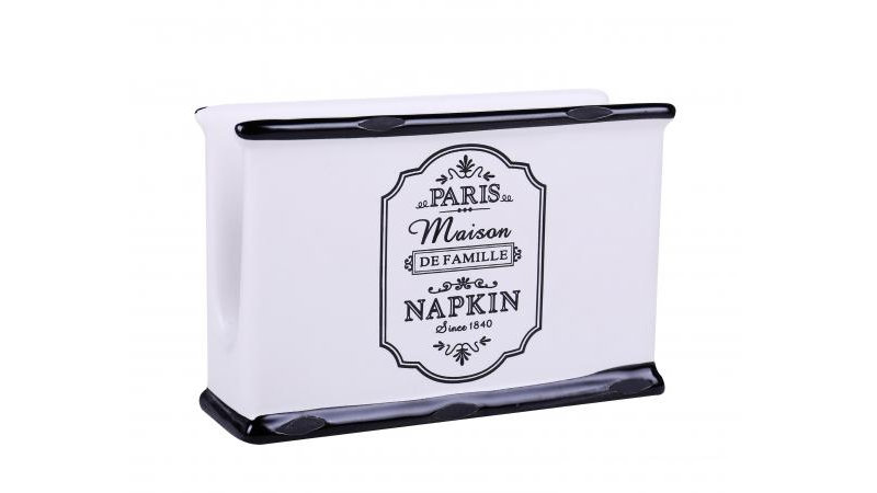 Parisienne Ceramic Napkin Holder
