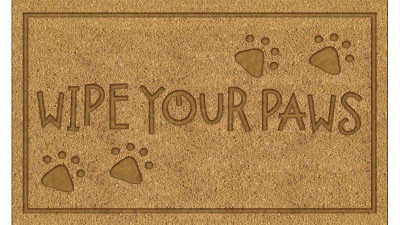 Welcome Dog Doormat