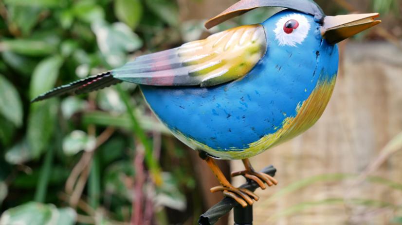 Blue Bird on Stake
