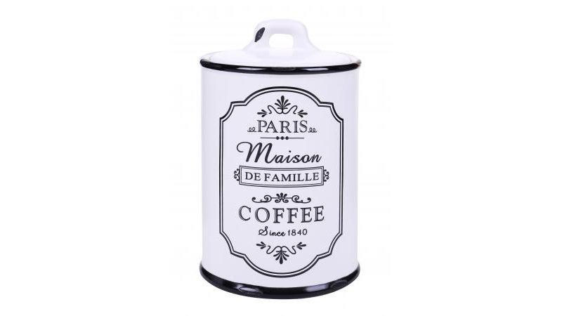 Parisienne Ceramic Coffee Jar