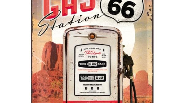 Route 66  20x30cm sign