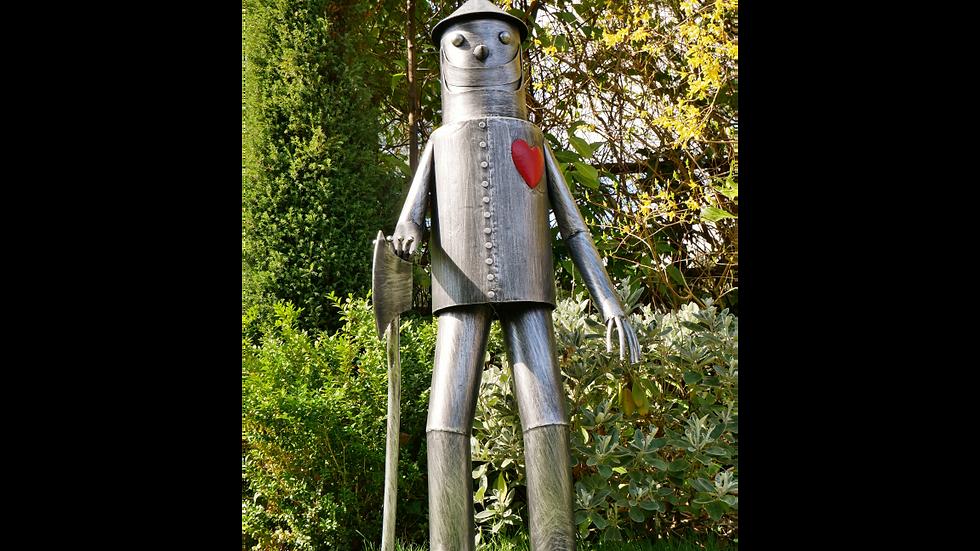 Tin Man Large Statue