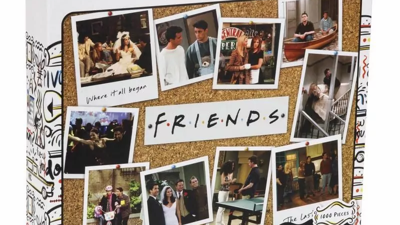 Friends Jigsaw 1000pcs Seasons