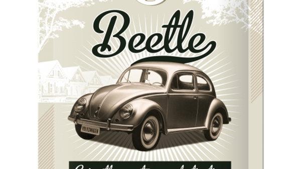 VW Volkswagen Beetle 15x20cm sign