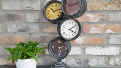Four Face Clock
